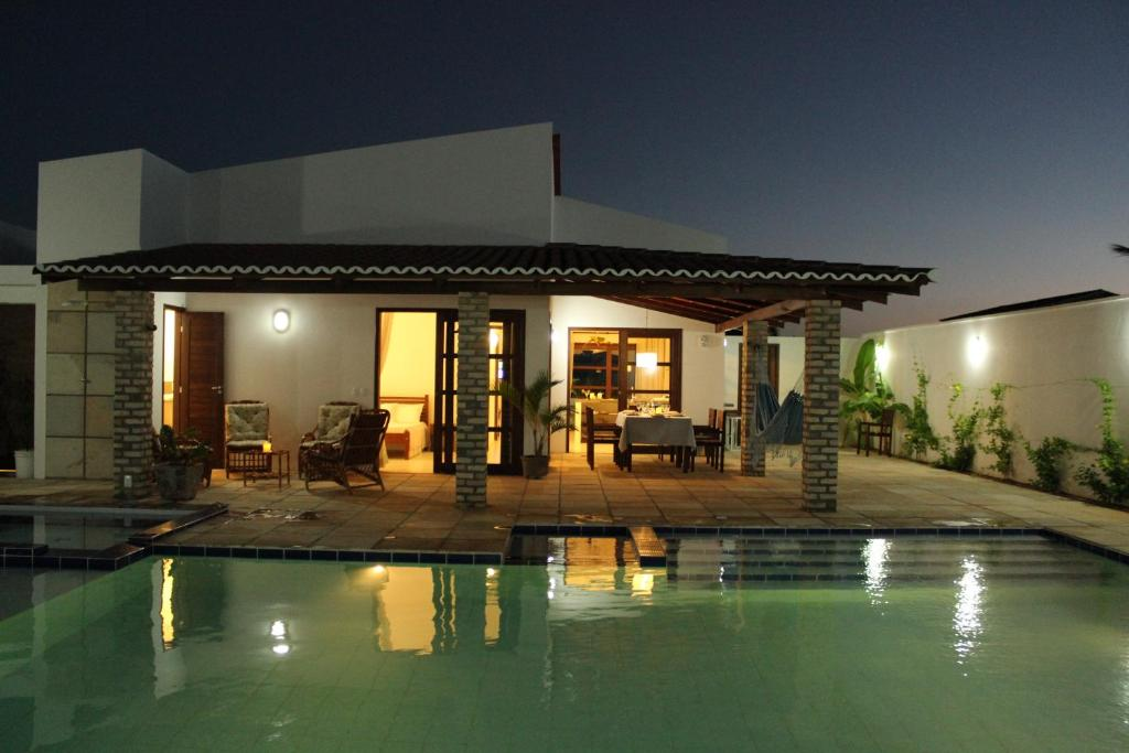 casa de temporada casa moderna de praia brasil touros