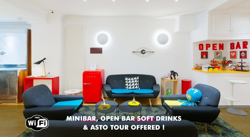 Hotel george astotel r servation gratuite sur viamichelin for Hotel sans reservation paris