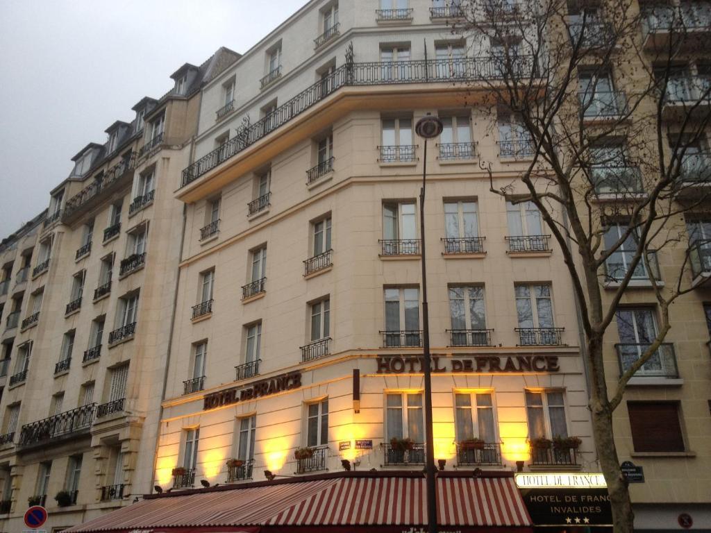 Hotel de france invalides parigi prenotazione on line for Michelin hotel france