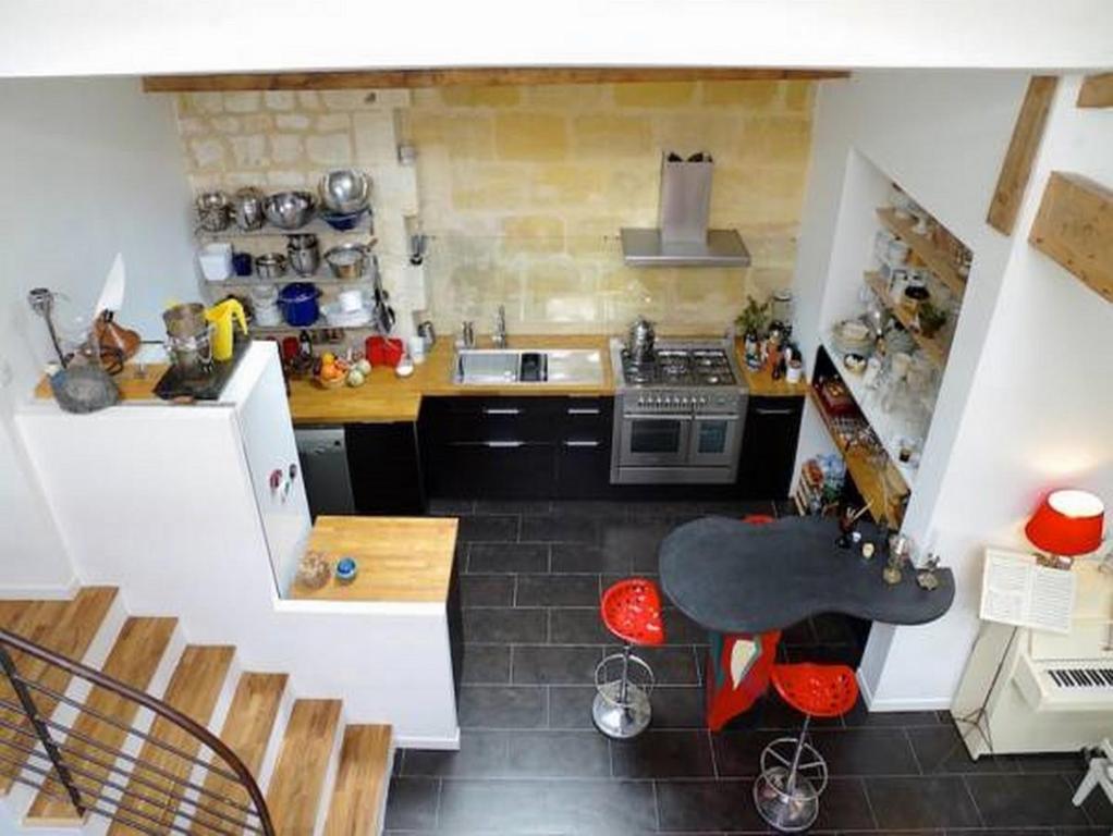 Appartement balguerie locations de vacances bordeaux - Ustensiles de cuisine bordeaux ...