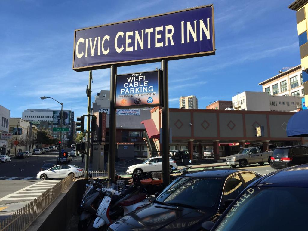 Civic center inn san francisco online booking for Red motor lodge san francisco