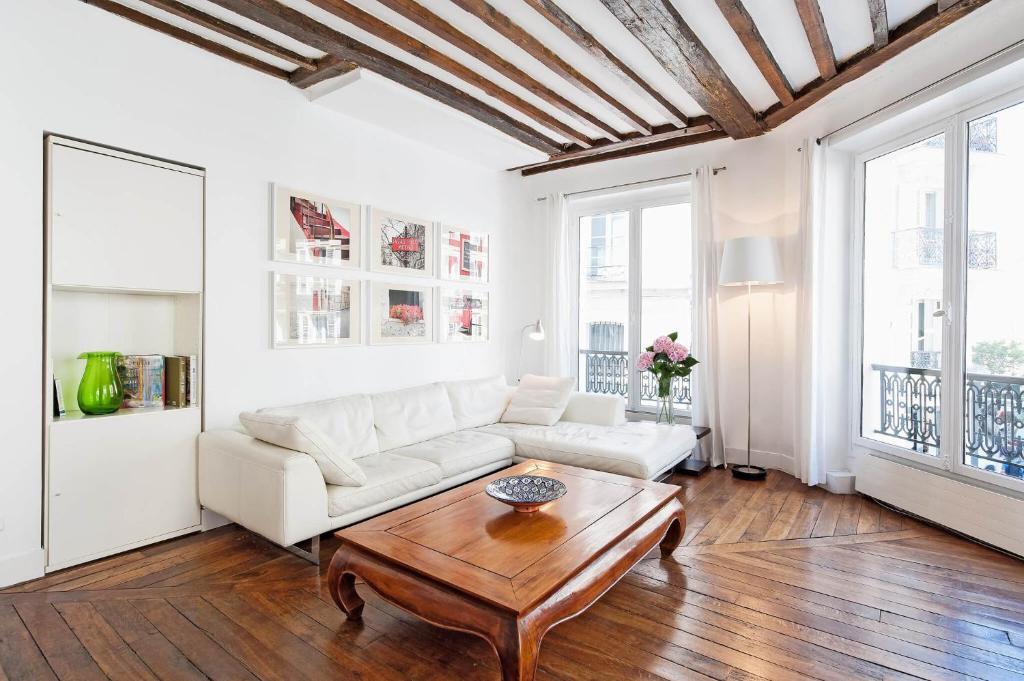 Appartamento le coeur du marais francia parigi for Hotel zona marais parigi
