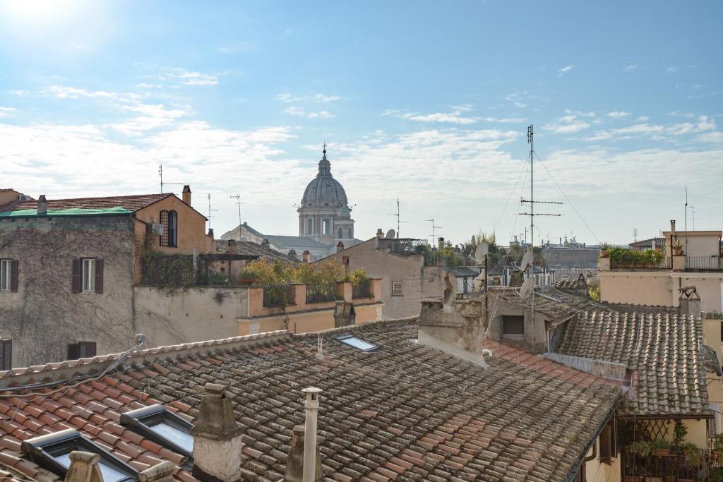 Babuino mini loft vatikanstadt informationen und for Hotel via del babuino