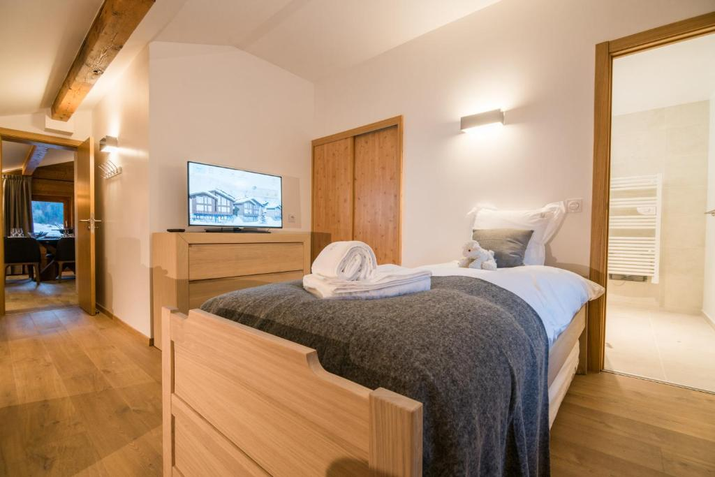 Les portes de meg ve meg ve book your hotel with for Hotels 3 etoiles megeve