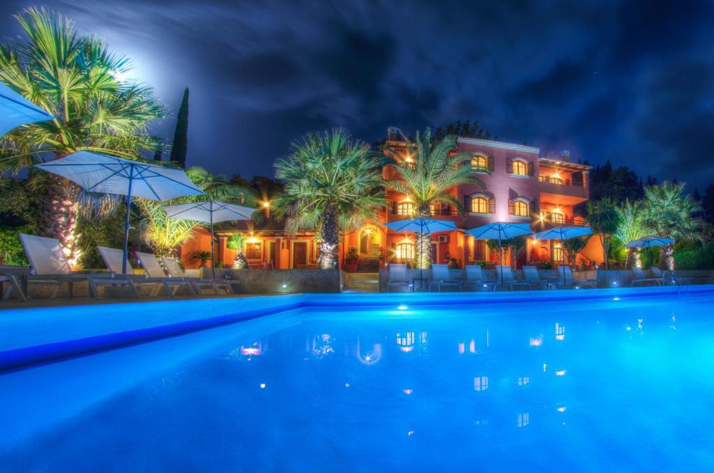 The Palm Garden Andreas Villas Golf Ermones Greece