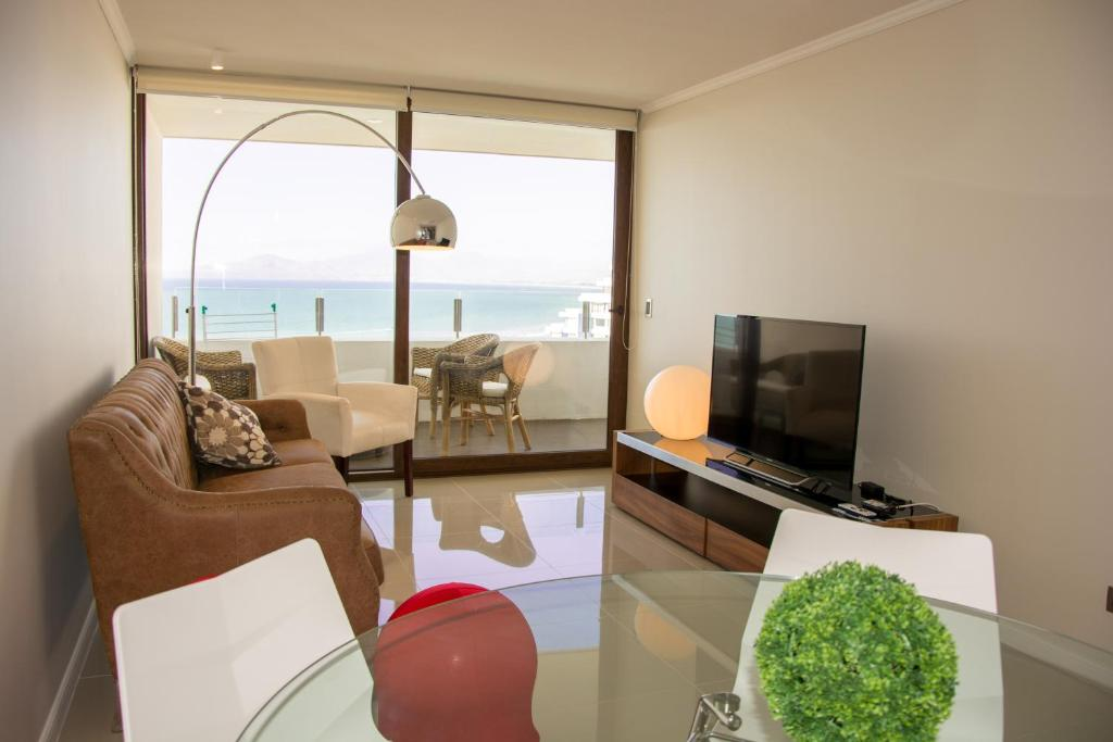 Departamentos jard n del mar de luj chile coquimbo for Apart hotel jardin del mar la serena