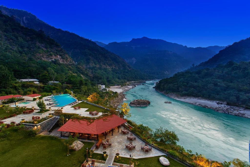 Tầm nhìn từ trên cao của Aloha On The Ganges by Leisure Hotels
