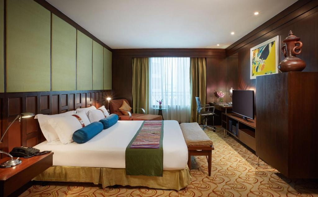 The davis bangkok r servation gratuite sur viamichelin for Decoration chambre thailandaise