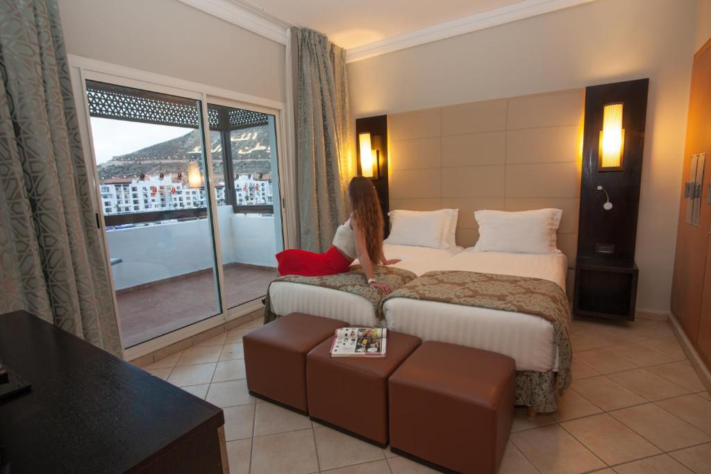 bianca beach family resort agadir prenotazione on line viamichelin. Black Bedroom Furniture Sets. Home Design Ideas