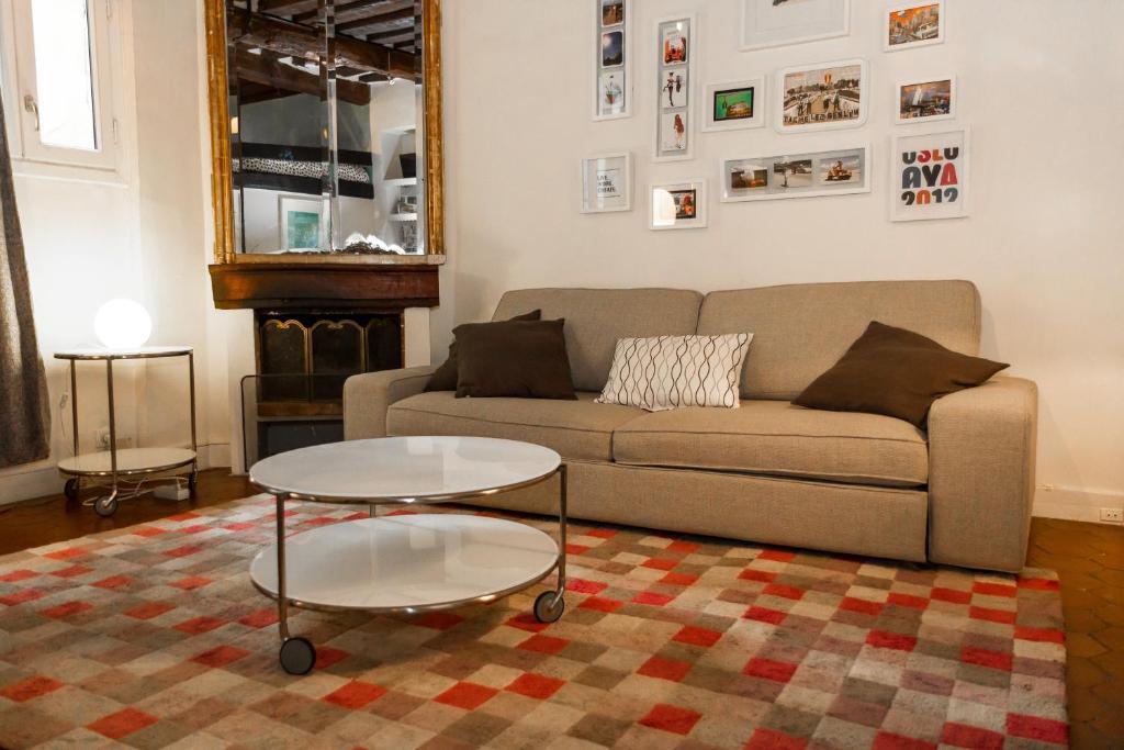 Appartamento le marais francia parigi for Hotel zona marais parigi