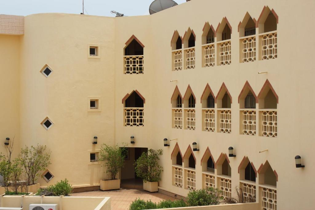 Appart 39 h tel le babemba bamako viamichelin informatie for Appart hotel 45