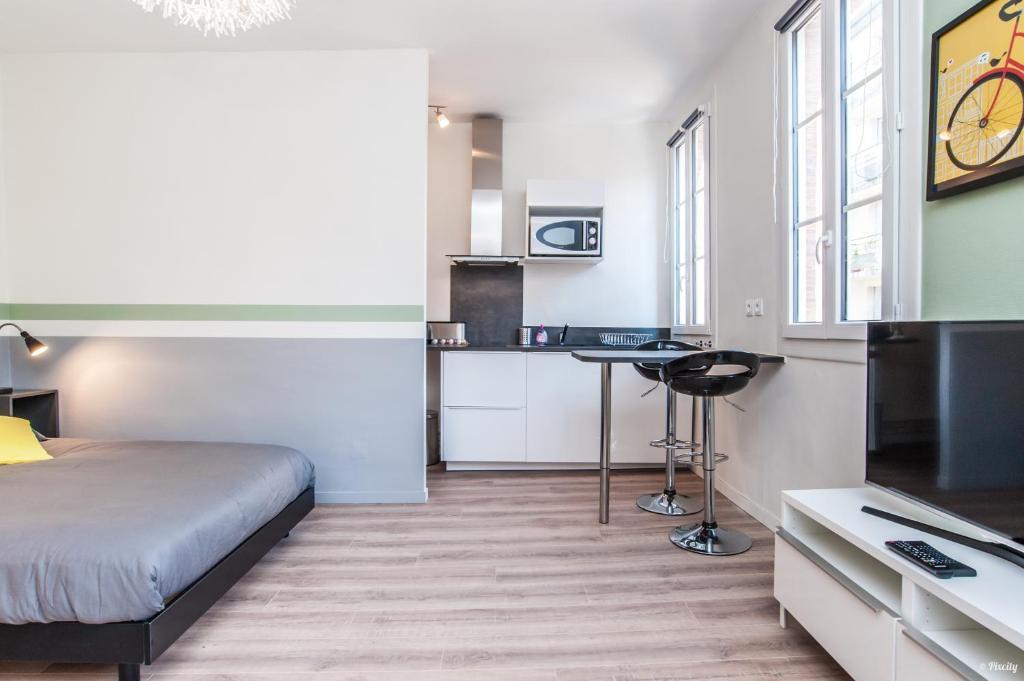 Appartement superbe t1 design 23m2 compans caffarelli - Ustensiles de cuisine toulouse ...