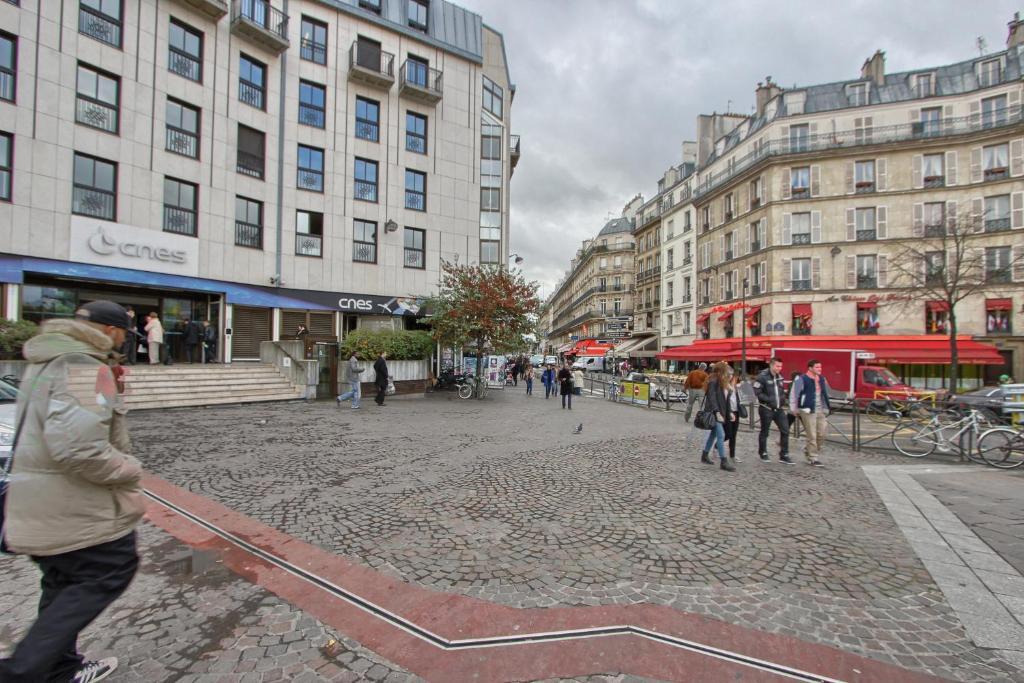 wohnung canop e wohnung in paris in paris 75. Black Bedroom Furniture Sets. Home Design Ideas