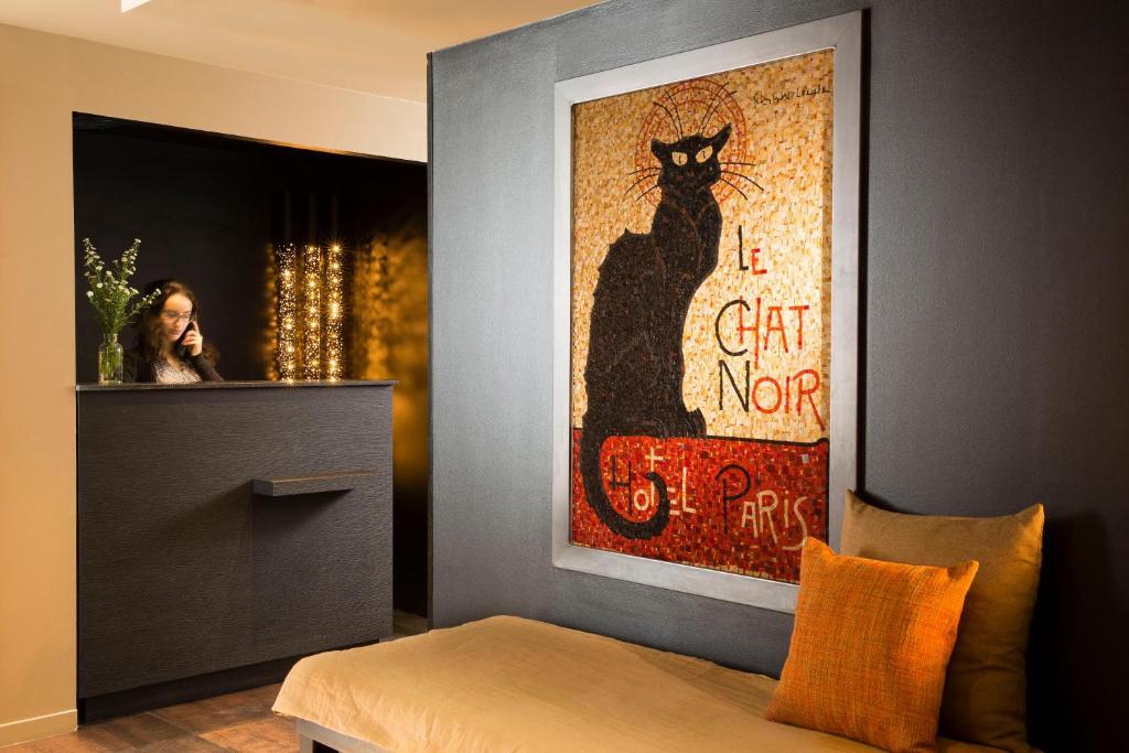 Hotel Le Chat Noir Saint Ouen Prenotazione On Line