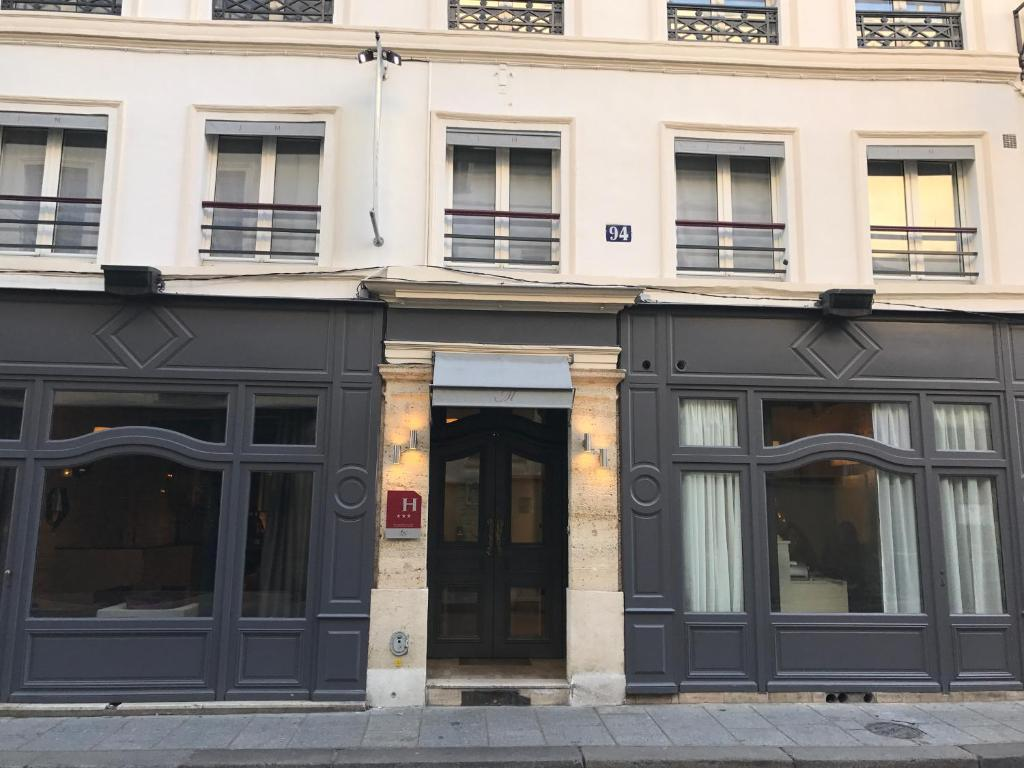 H tel jacques de molay paris informationen und for Michelin hotel france