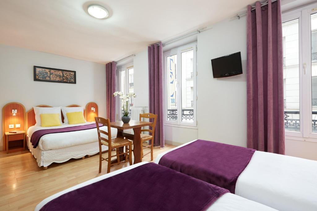 H tel viator paris informationen und buchungen online for Hotels 75017
