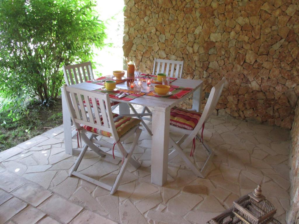 C t intendance c t d co vakantiehuis in blauvac in le vaucluse 84 - Deco terras zwembad ...