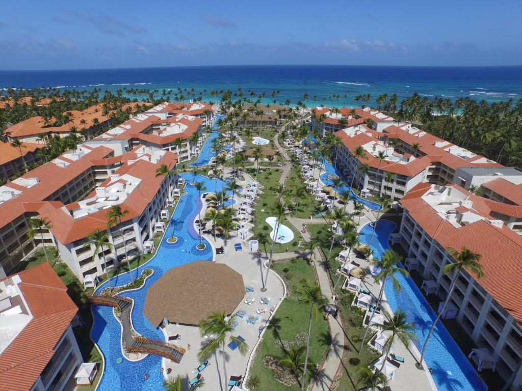 Una vista aérea de Majestic Mirage Punta Cana, All Suites – All Inclusive