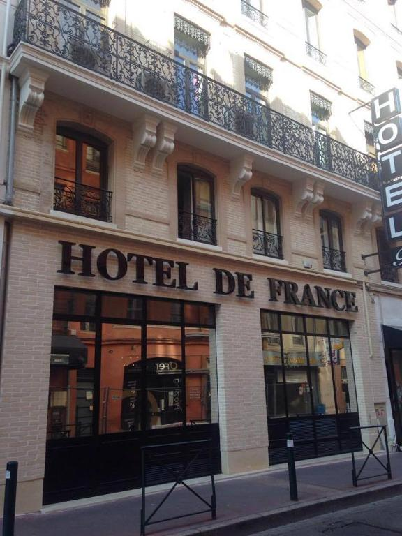 H tel de france toulouse book your hotel with viamichelin for Hotels toulouse