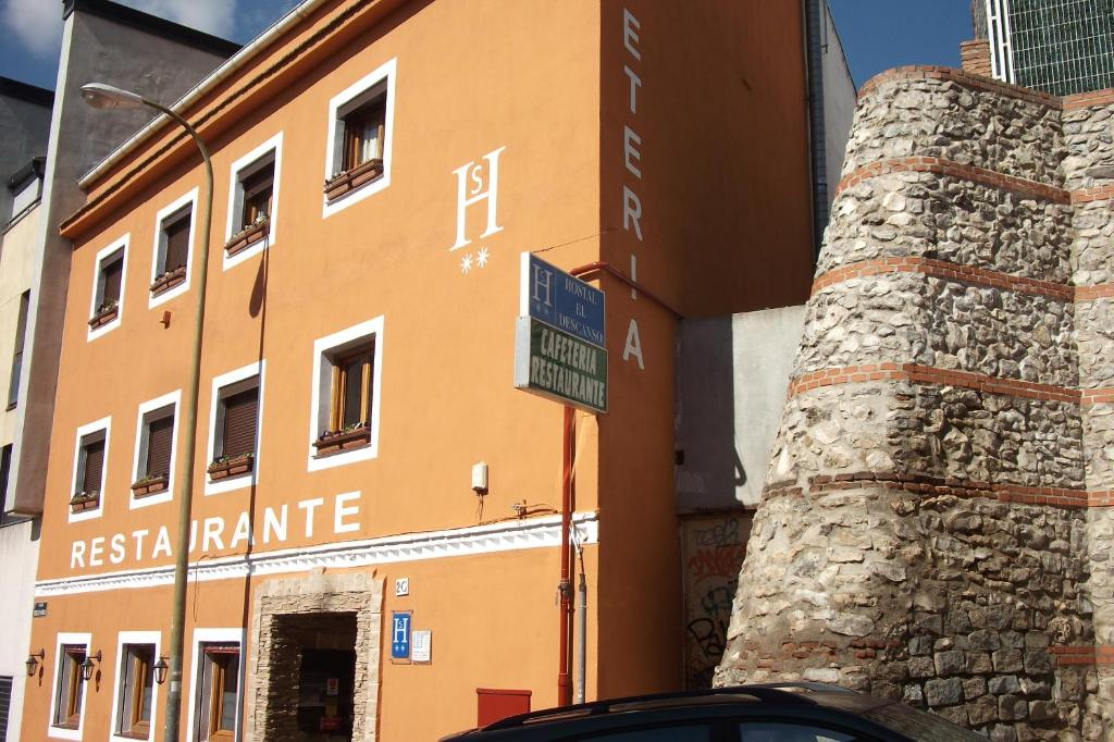 Hostal El Descanso Madrid Book Your Hotel With Viamichelin
