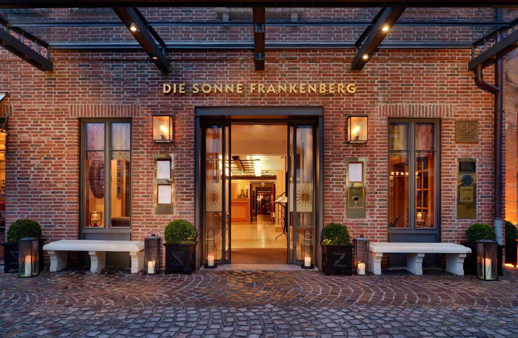hotel sonne frankenberg deutschland frankenberg. Black Bedroom Furniture Sets. Home Design Ideas