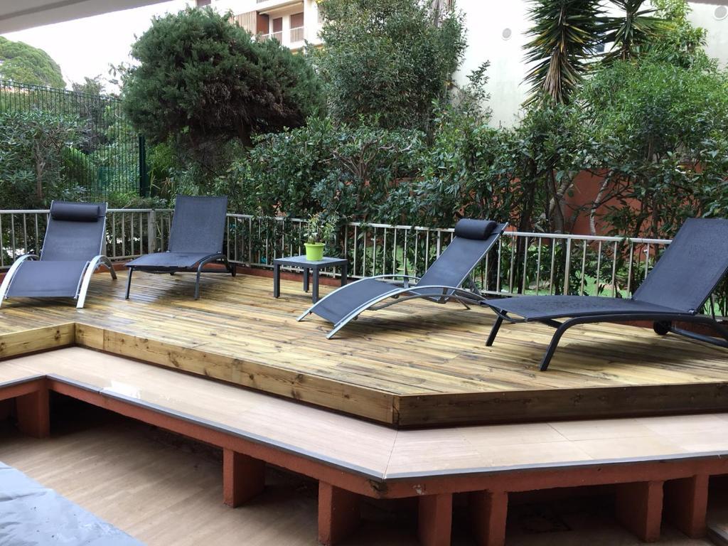 Residence luxe les jardins du cap antibes r servation for Restaurant le jardin du cap