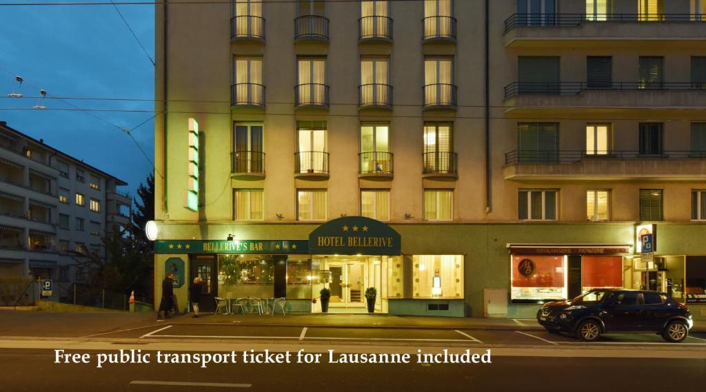 H tel bellerive lausanne online booking viamichelin for Bellerive lausanne piscine