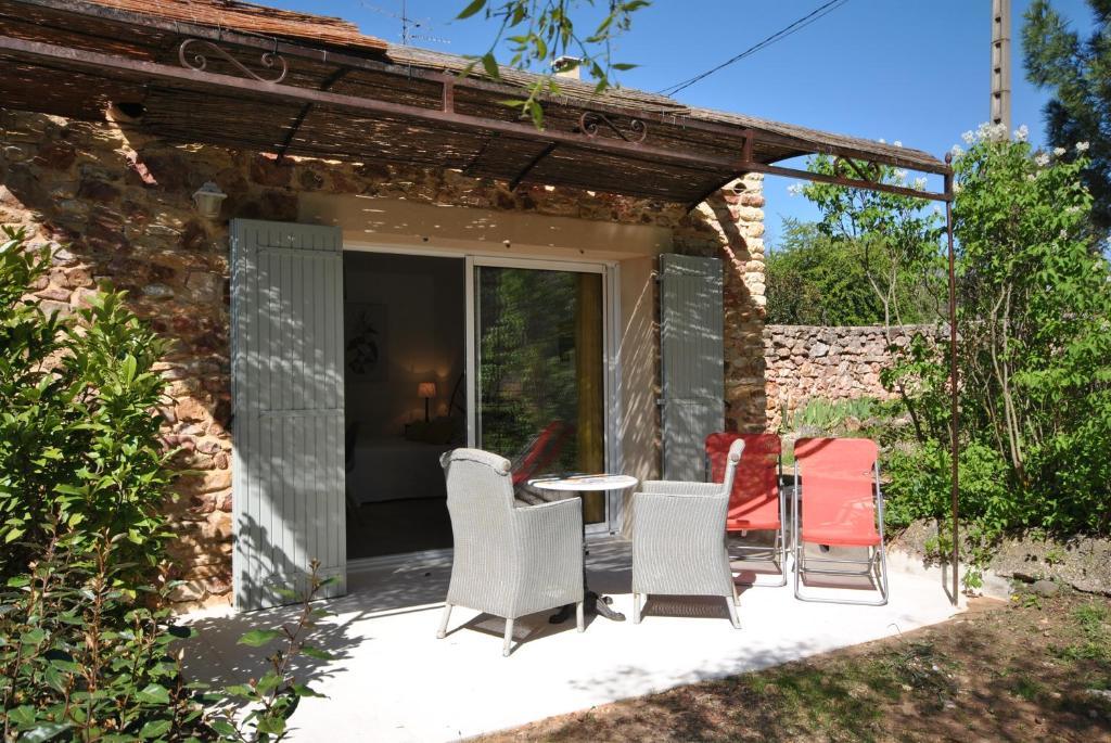 B b la badelle apt prenotazione on line viamichelin for At home architecture 84220 gordes