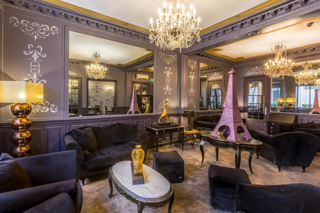 Hotel prince albert louvre paris book your hotel with for Seven hotel paris booking