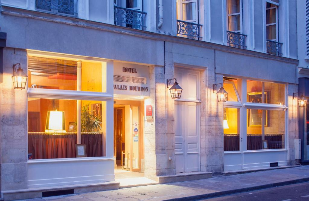 H tel du palais bourbon paris online booking viamichelin for Hotels 75007