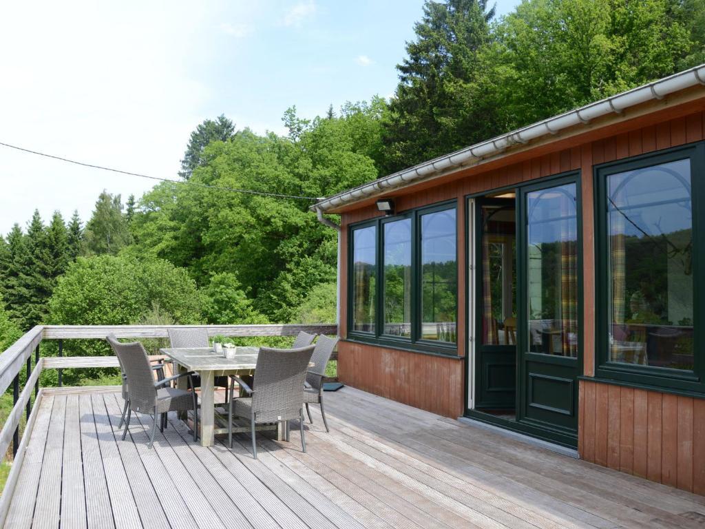 La maison du bois locations de vacances waimes for Cintrer du bois a la maison