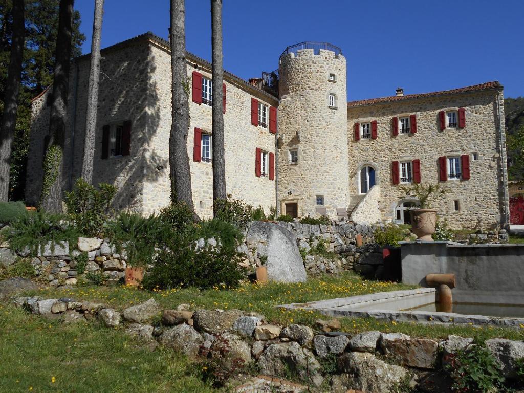 Chateau de la rode chambres d 39 h tes aumessas - Chambre d hote la couvertoirade ...