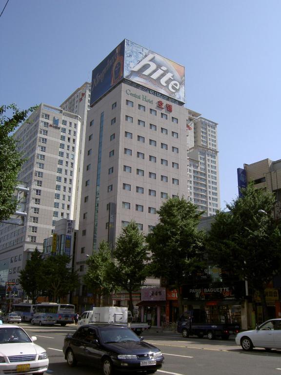 Busan central hotel r servation gratuite sur viamichelin for Central reservation hotel