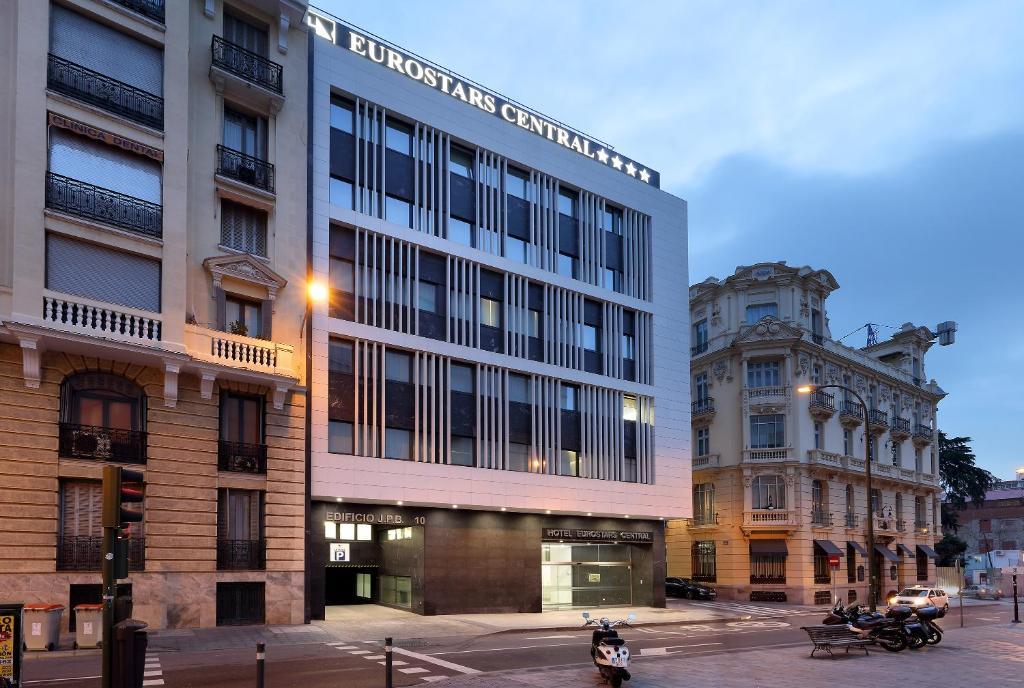 Eurostars central madrid informationen und buchungen Best hotels in central madrid