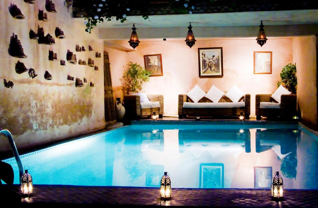 Le riad meknes meknes book your hotel with viamichelin - Location de jacuzzi a domicile ...