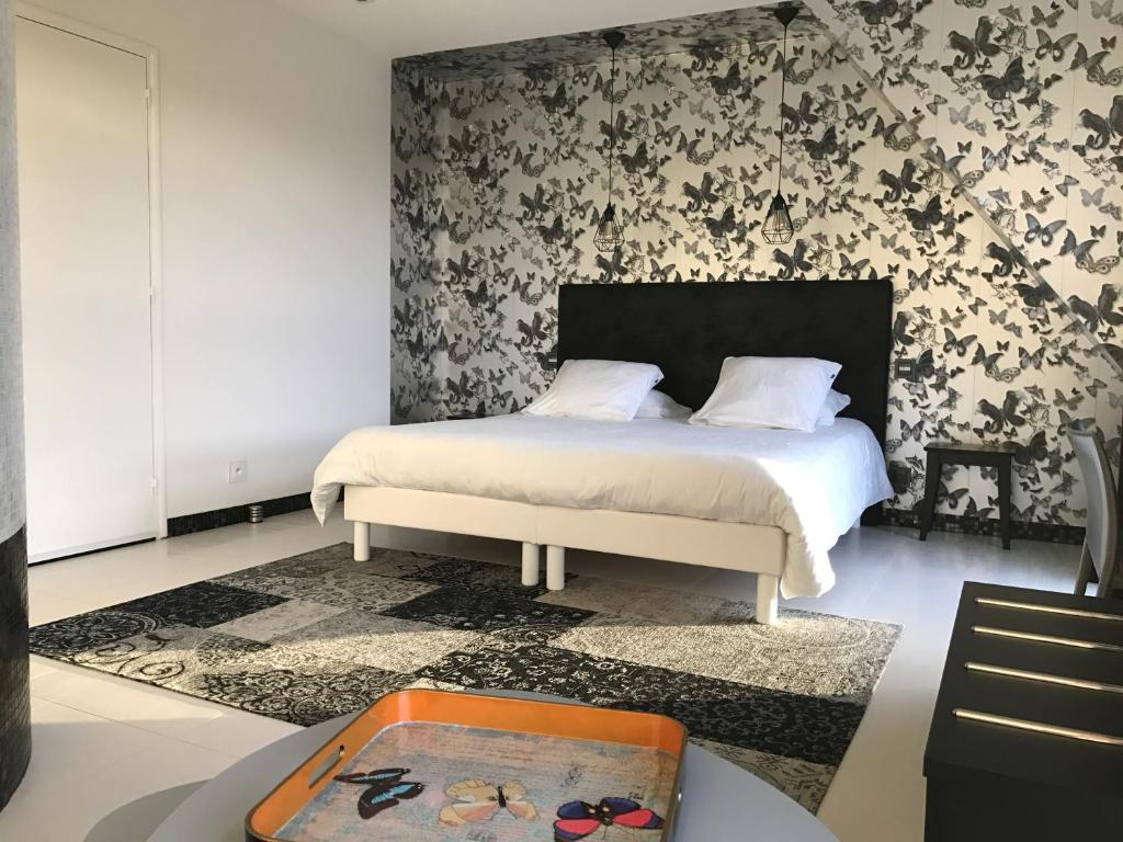 chambre contemporaine bed breakfast in pleuven in le