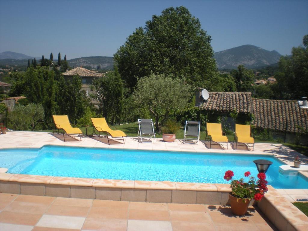 Gite les lavandins r servation gratuite sur viamichelin for Chauffage piscine 974