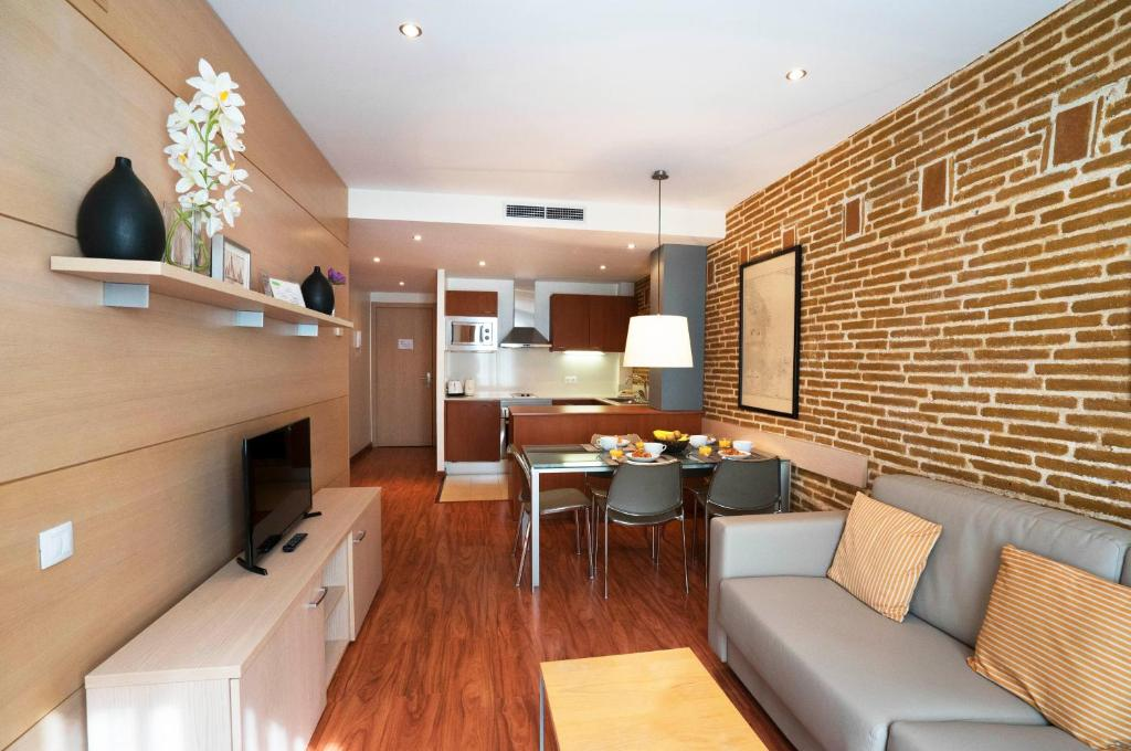 Ferienapartment Barcelona arc de triomf apartments wohnungen barcelona