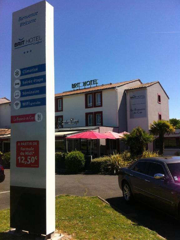 Brit Hotel La Rochelle P U00e9rigny - Aytr U00e9