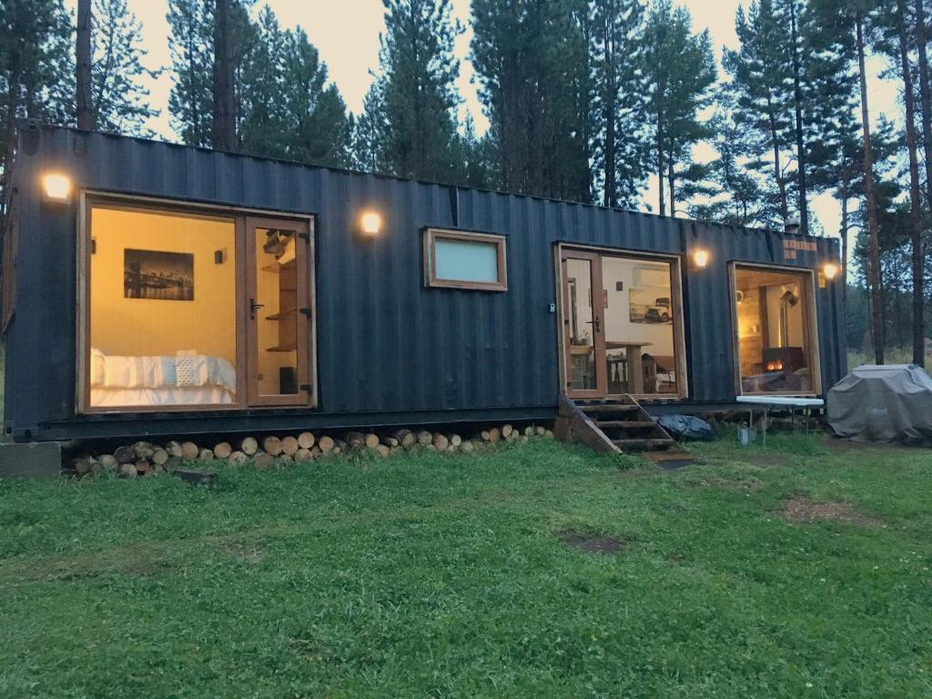 Casa de vacaciones casa container chile coyhaique - Precio casa container ...