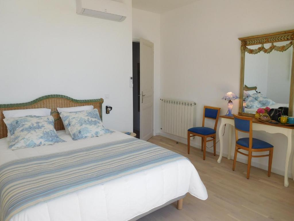 Chambres d 39 h tes villa marguerite chambres d 39 h tes hy res for Chambre hote hyeres