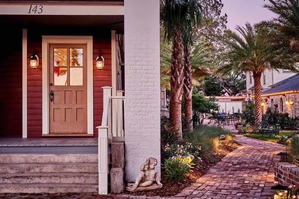 The Collector Luxury Inn Gardens Saint Augustine Viamichelin Informatie En Online
