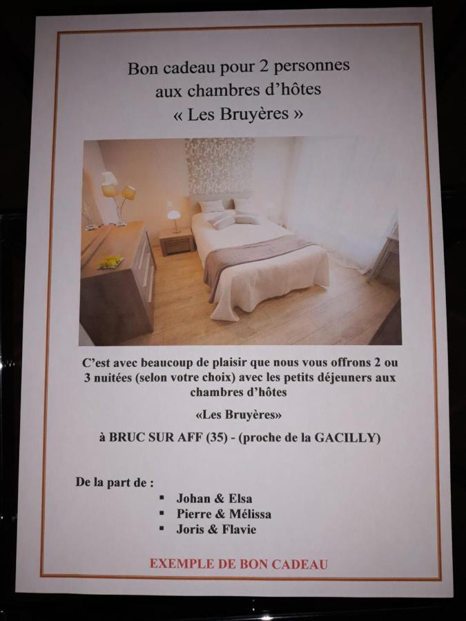 Bed and Breakfast Chambre dhôtes Les Bruyères (Francia Bruc ...