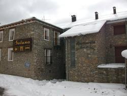 Hostal Solana, Única, s/n, 22451, Vilas del Turbon