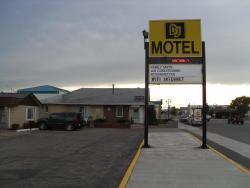 DJ Motel, 416 Colonel MacLeod Boulevard, T0L 0Z0, Fort Macleod