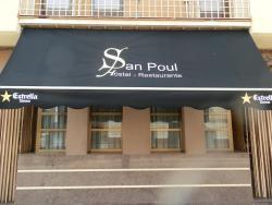 Hostal Restaurante San Poul, Avenida Alcázar de San Juan, 50, 45700, Consuegra