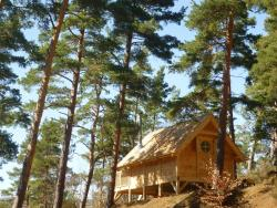 Cabane Lodge Domaine du Lac Chambon, Plage Est, 63790, Murol