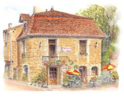 Hôtel Auberge de La Nauze, Fongauffier Sagelat, 24170, Sagelat