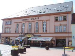 Hotel Paříž, Žižkovo Náměstí 3, 506 01, Jičín