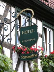 Hotel Sonnenhöfle, Hauptstraße 19, 97286, Sommerhausen